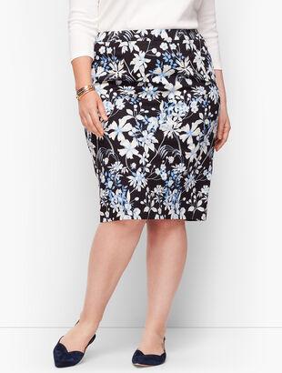 Garden Pencil Skirt