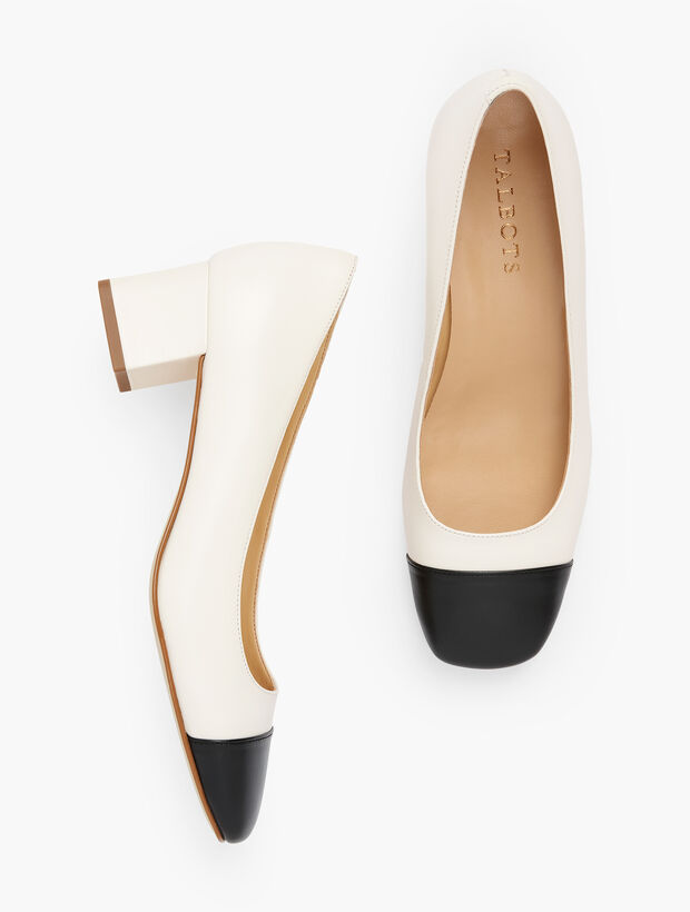 Claire Square Toe Pumps