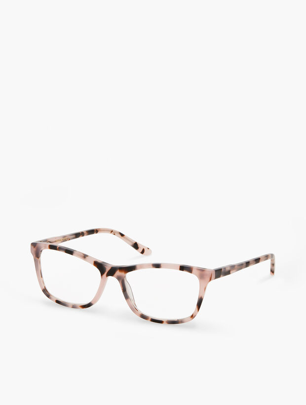 Montauk Reading Glasses - Pink Tortoise