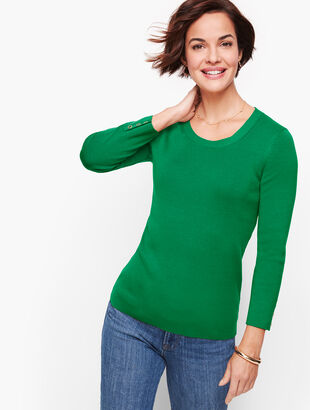 Button Cuff Sweater
