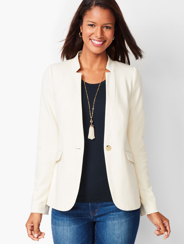 Perfect Ponte Blazer- Solid