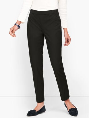 Talbots Chatham Ankle Pants - Back Stitched Seam