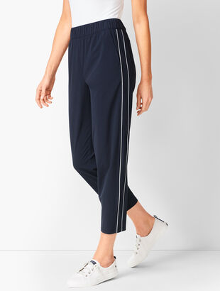 Lightweight Stretch Crops - Piped