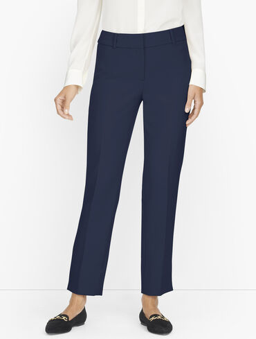 Talbots Hampshire Ankle Pants - Solid- Curvy Fit