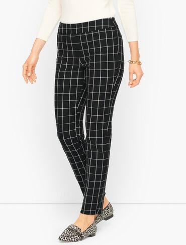 Talbots Chatham Ankle Pants - Window Pane - Curvy Fit
