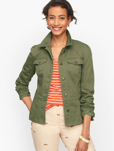 Tailored Jean Jacket - Colors
