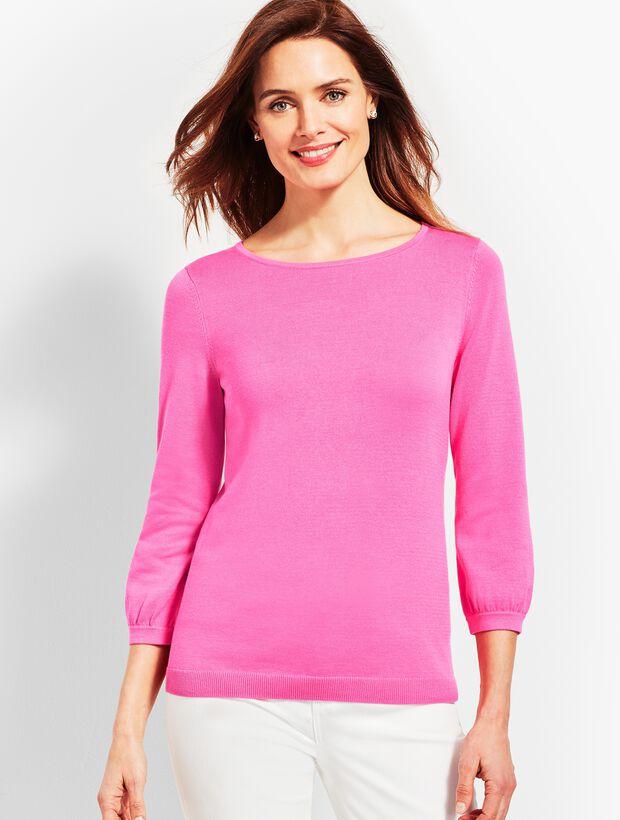 Bonnie Bows Crewneck Sweater