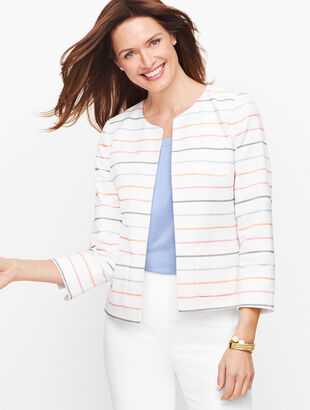 Biscay Stripe Bracelet Sleeve Jacket