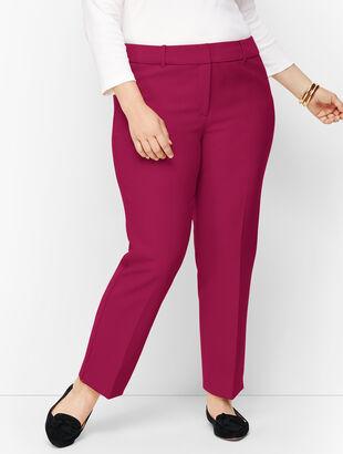 Plus Size Talbots Hampshire Ankle Pants - Solid