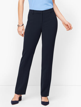 Easy Travel Straight-Leg Pants - Curvy Fit
