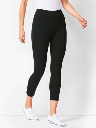 Everyday High-Waist Yoga Crops - Solid