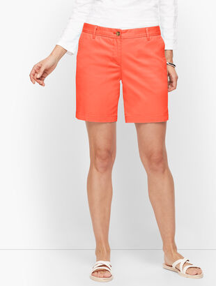 "Relaxed Chino Shorts - 7"" - Solid"