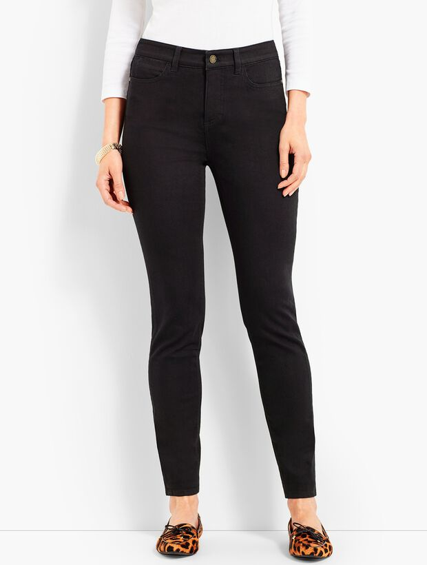 1ed927fceb0ab Denim Jegging - Black | Talbots