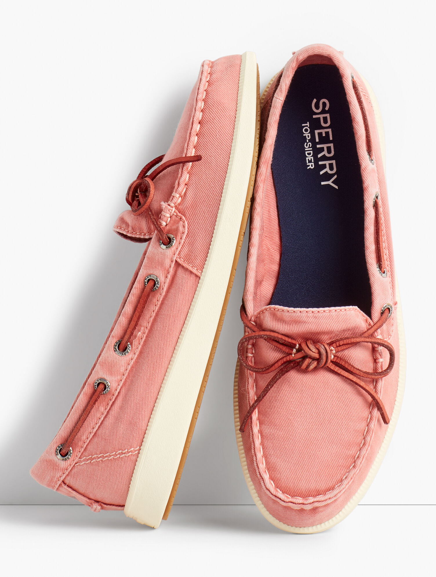 sperry boat shoes canvas