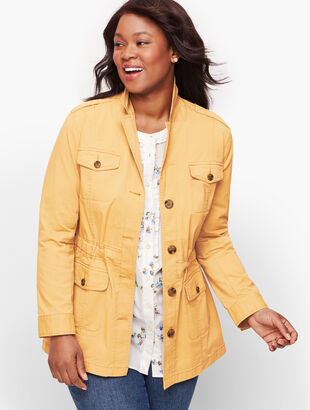 Stretch Canvas Cotton Jacket