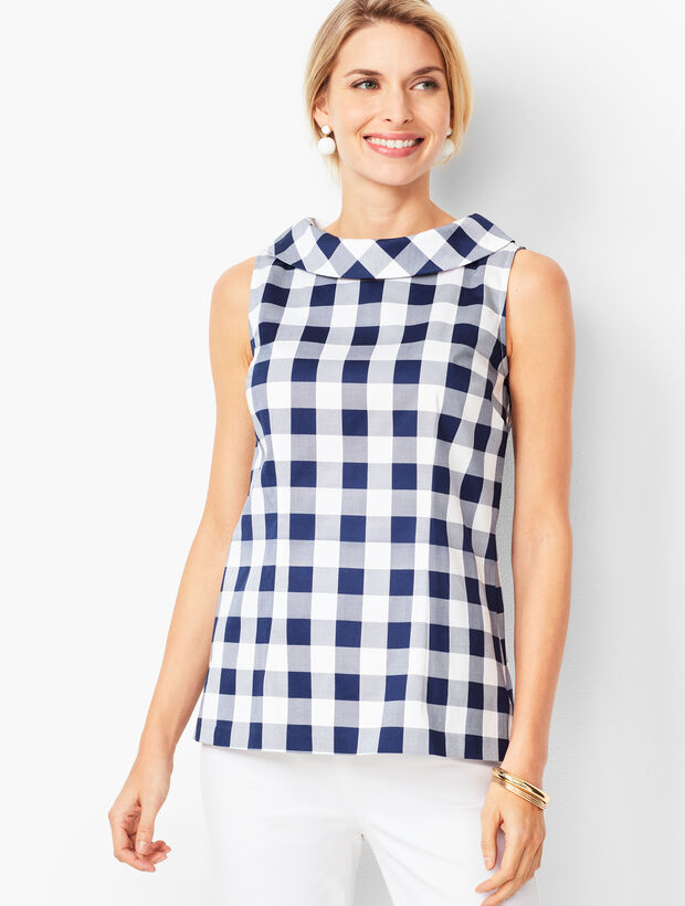 Audrey Shell - Gingham