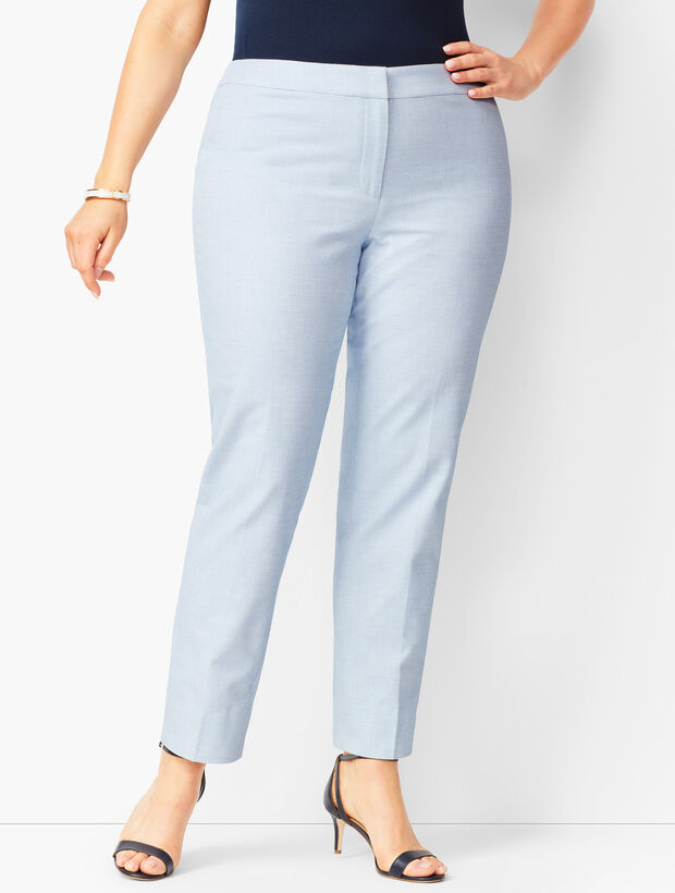 Plus Size Biscay Slim Ankle Pants