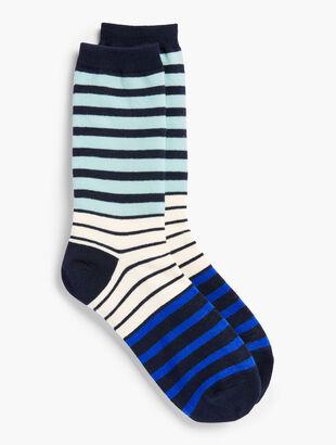 Stripe Trouser Socks