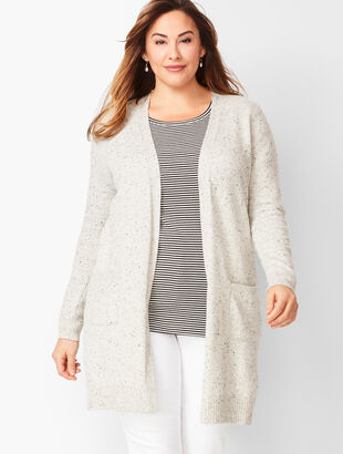 Donegal Cotton-Blend Cardigan