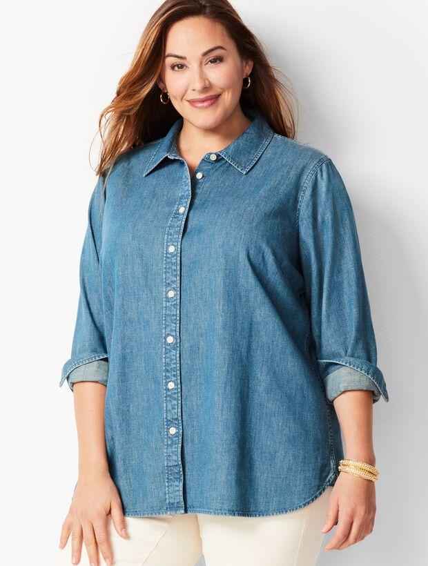 Classic Denim Cotton Shirt