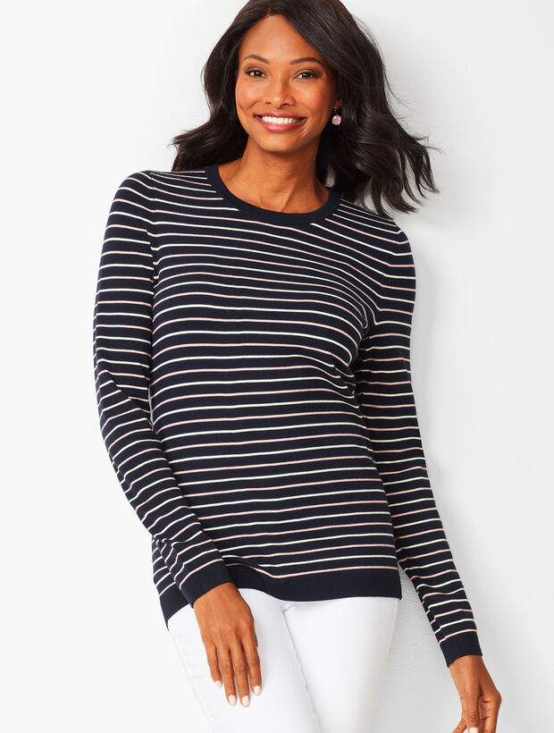 Riviera Stripe Sweater