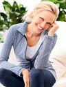 Everyday Yoga Jacket - Petal Stripe