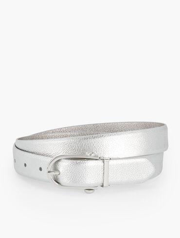 Reversible Nappa Leather Belt