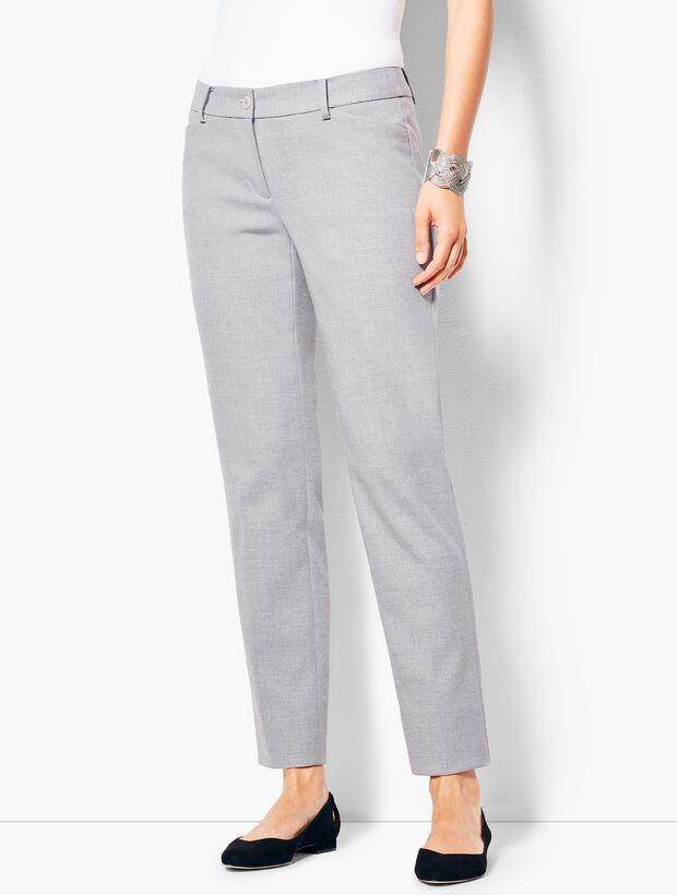 Talbots Hampshire Ankle Pant - Grey