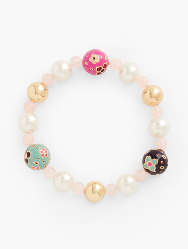 Cloisonné Stretch Bracelet