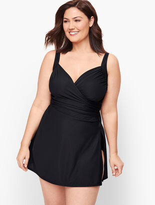 Miraclesuit® Sanibel Swim Dress - Solid