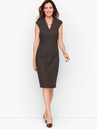 Luxe Donegal Sheath Dress