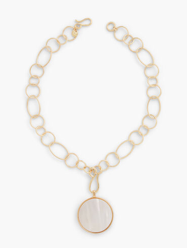 Pearl Convertible Pendant Necklace