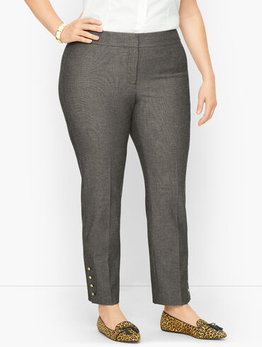 Plus Size Exclusive Talbots Chatham Ankle Pants