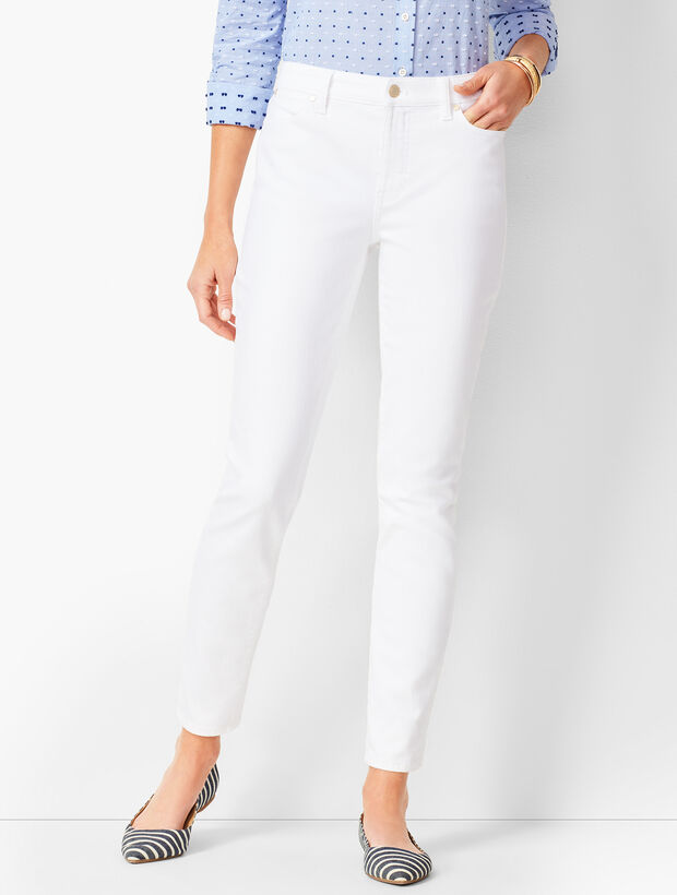 Slim Ankle Jeans - Colored