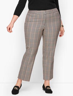 Plus Size Talbots Hampshire Ankle Pants - Colton Check