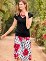 Double-V Sweater Topper - Fashion Colors