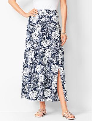 ea814a44338 Jersey Maxi Skirt - Floral