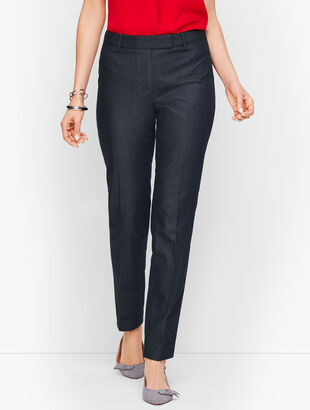 Cotton Bi-Stretch Pants - Polished Denim