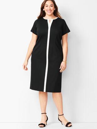 Refined Ponte Sheath Dress