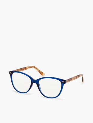 Hamptons Reading Glasses - Blue/Tortoise