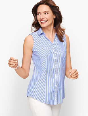 Perfect Shirt - Sleeveless - Mixed Stripe
