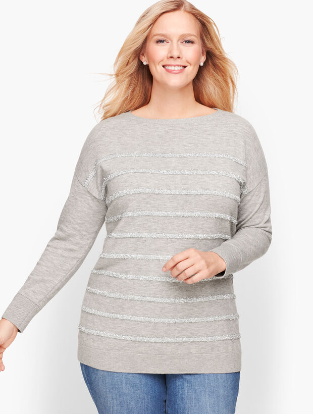 Tinsel Stripe Sweater