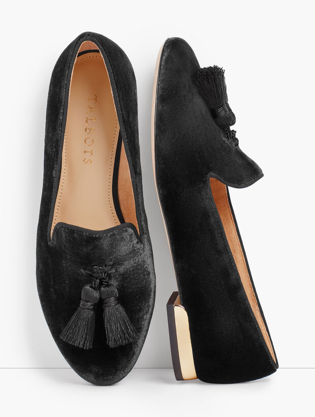 Ryan Tassel Loafers - Velvet
