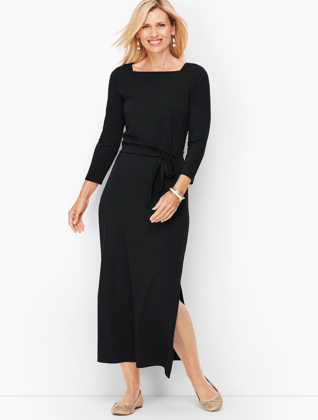 Jersey Maxi Dress - Solid