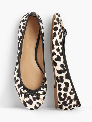 Olympia Ballet Flats - Leopard
