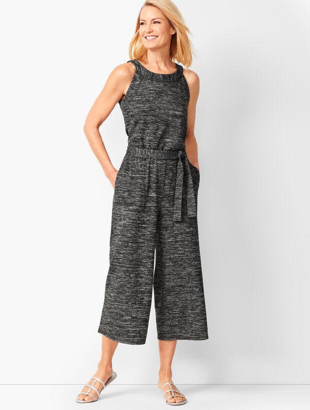Soft-Drape Jersey Romper