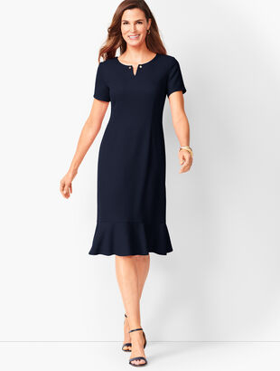 Dobby Shift Dress b87c639f7