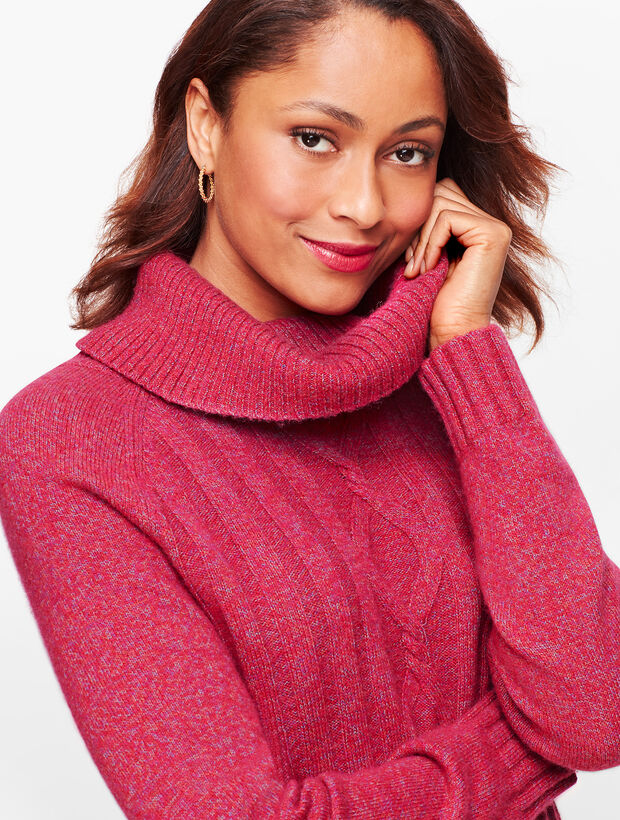 Marled Cowlneck Sweater