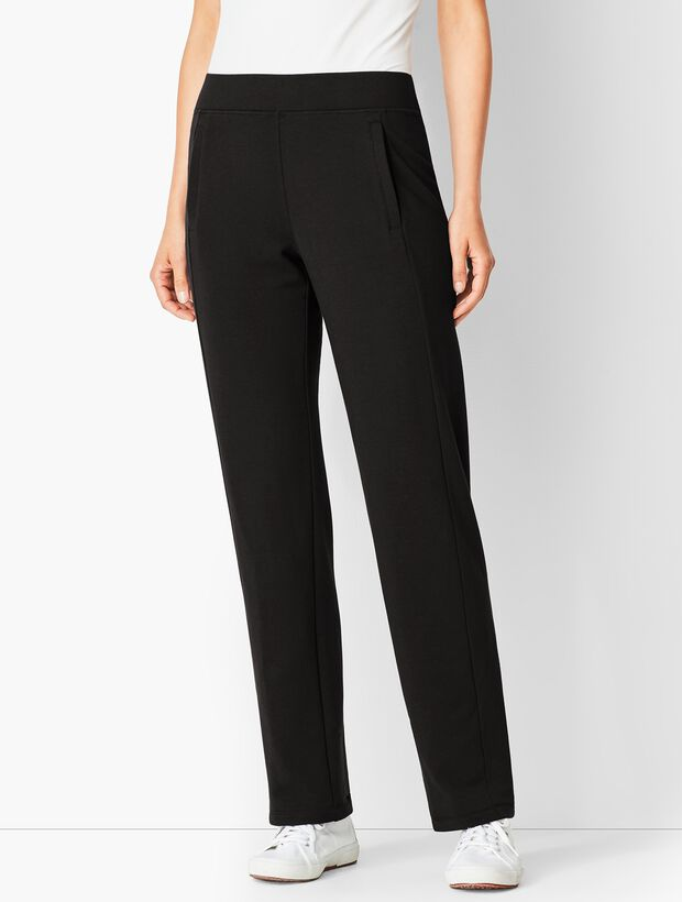 Essential Terry Relaxed Leg Pants
