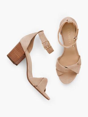 Beatrice Twist Strap Sandals